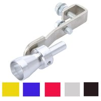 Wholesale Hot Sale Universal Turbo Sound Whistle Exhaust Pipe Tailpipe Fake BOV Blow off Valve Simulator Aluminum Size XL x3 cm Free