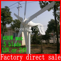 Wholesale W Max Wind Generator Power Turbine Generator V With High Quality CE ISO9001 Certification Blades