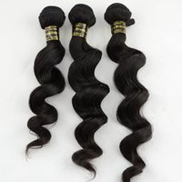 Wholesale Youtube Review Products Human Brazilian Virgin Hair Loose Wave Weave Hair Extensions Sale