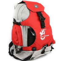 bag sport roller - Skate backpack Roller shoe quality rucksack Outdoor sport unisex day pack Waterproof nylon bag