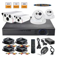 Wholesale 4CH P AHD DVR MP Night Vision Indoor Outdoor Cameras CCTV Security System