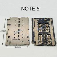 Wholesale 10pcs For Samsung Note SM N9200 N9206 N9208 N9209 Sim Card Reader Connector Socket Holder Slot
