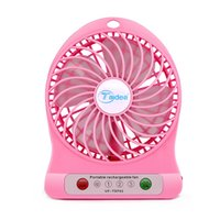 Wholesale Mini USB Fan with LED Indicator Input V Output DC V Fan Office Portable Cooling Tools
