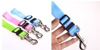 Wholesale High quality Adjustable Car Vehicle Safety Seatbelt Seat Belt Harness Lead for Cat Dog Pet cm
