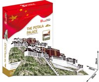Wholesale Cubicfun d puzzle the potala palace in Lhasa Tibet educational model toys hand made paper presents for kids birthday Chrismas