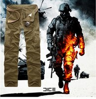 camo pants for men - spring new camouflage pants for men loose casual straight camo cargo pants men s trousers military uniform pants XN01