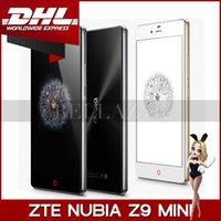 "Cheap Free DHL!!!Original ZTE Nubia Z9 Mini 4G FDD LTE Cell Phones Snapdragon 615 Octa Core 5"" 1920x1080 2GB RAM 16GB Android 5.0 16.0MP Camera"
