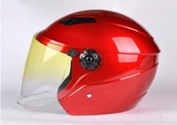 air free scooters - Air Vents Men Women Motorcycle Scooter Warm Safety Half Face Street Helmet Safely Open Face Helmet