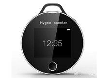 Wholesale 2015 Mini Portable Hygeia Speaker bluetooth health partners smart heart rate tester Detection Bluetooth Speaker Drop Shipping