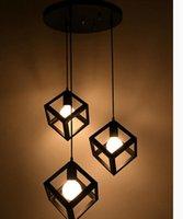 balcony design - New Creative Modern design restaurant dining room balcony corridor lamp wrought iron peadant lamps