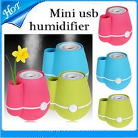 Wholesale Mini usb humidifier ultrasonic humidifier air humidifier Anion aromatherapy essential oil aroma diffuser