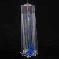 gill net - 3 m Durable Nylon Fishing Net Monofilament Fish Gill Net for Hand Casting Pease Fishing Tools DHL Y2121