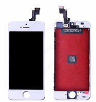 Cheap Full Set Assembly Replacement LCD Display & Touch Screen Digitizer for iPhone 5S iphone 5C iPhone 5G Repair Parts Black White