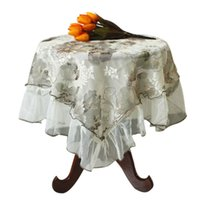 Wholesale Brand new Embroidered Home Textile sequin Table Cloth Home Decor