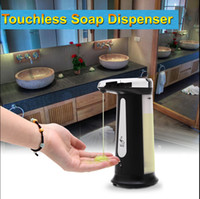 Wholesale iRulu NEW arrival ML Automatic Touchless IR Sensor Liquid Soap Dispenser for Kitchen Bathroom Home Hotel TY1106