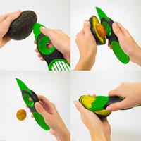 fruit slice - 3 in Avocado Slicer Pitter Splitter Slices Kitchen Accessories Tool Fruit Vegetable Tools H13660
