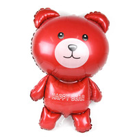 aluminium stand suppliers - New Extra Large Standing Happy Bear Helium Foil Balloon Birthday Wedding Party Supplier Balloon Kids