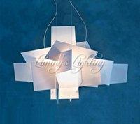 Wholesale 2 D65CM Modern RH LOFT European Fixture Foscarini Big Bang Chandeliers Lighting Art Pandant Lamp Ceiling LED Bulb V