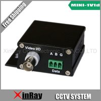 Wholesale Free shipment pair CCTV XR5513 Point to Point channel Video Reverse channel Data Fiber Optic Transmission System