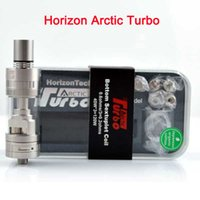 Le Vaporisateur de réservoir Turbo de l'Arctique Horizon Clone Horizon le plus bas 3.5ml Arctic Turbo Sub Ohm Tank with AFC