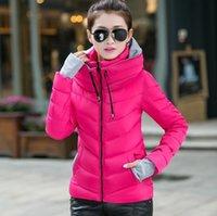 Wholesale winter parkas womens down cotton padded jacket women clothing female wadded jackets snow wear winter coat women