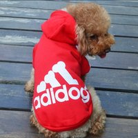 apparel for dogs - New Dog Apparel Pets Supplies Autumn Winter Fashion Cotton Printed Clothing for Pets Dog Dog Hodies Colors MC