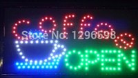 Wholesale Special Offer Hot Sale Graphics mm indoor X27 Inch coffee Business Shop Led Ultra Bright neon SIGN