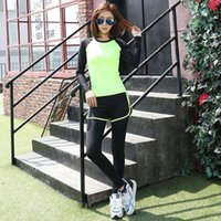 Wholesale New Conjunto Gimnasio Mujer Breathable Sport Suits For Women Fashion High Quality Running Sets WN HBK057