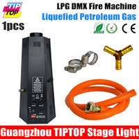 Wholesale TIPTOP W Stage Effect Flame Machine DMX Fire Jet Projector with LPG Gas as Fuel Easy Operate DMX Control Factory Sale V V