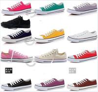 Wholesale Unisex canvas shoes Low Top High Sport Shoes High quality canvas shoes