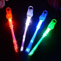 beam decorations - LED Fiber Finger Beams Party Nightclub Glow Light Ring Torch