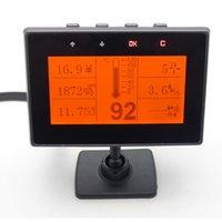 Wholesale 3 inch LCD Screen Car Multi Function Information Display OBD General Trip Computer Speeding Warning SCYF0561