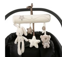 Wholesale 2015 Baby Infant Millie Boris Pram Charm Music Toy Bed Stroller Hang Bell Rattles pieces