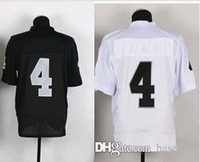 Wholesale Men s Derek Carr Elite American Football Jerseys Athletic Outdoor Apparel Stitched Name and Logo Allow Mix Order