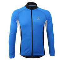 bicycle racing training - 2016 Blue Black Men Arsuxeo Motorcycle Clothing Easeful Bike Wear Tights Elastic Bicycle Tops Cycling Costume Road Racing Training Sale