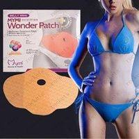 Wholesale 5pcs Hot Korea Belly Wing Mymi Wonder Patch Abdomen Treatment Reduce Weight Fat Burning Slimming Body Stomach Patchs Mask