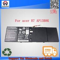 acer aspire one laptop battery - 15 V mAh WH new genuine original AP13B8K li ion Laptop Battery for Acer R7 for aspire one