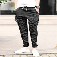 aa jeans - novel designs Hot Men Stylish Design Korea Men s Baggy Cargo Harem Pants Men Jeans overalls casual trousers pencil pant AA