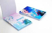 Wholesale New Arrival Frozen Series Stationery Anna Elsa Diary NoteBook Hardcover Notepad
