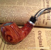 Cheap Authors wholesale import Ebony briar pipe tobacco fight beautifully carved consult in or out of stock