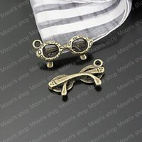 ac coin - ashion Jewelry Charms MM Antique Bronze Plated Zinc Alloy Metal Charms Sunglasses Charms Diy Jewelry Findings Jewelry Ac