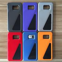 Samsung Galaxy S6 / S6 borde de TPU + PC 2 en 1 Casos Híbridos Estilo cubierta del teléfono móvil 3D Sports Car 6 colores del envío libre de DHL