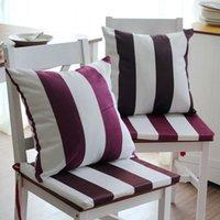 Fabricantes que vendem tecido plush curta com listras na fronha de travesseiros são Casa Mobiliário conjunto de almofada do sofá contendo núcleo