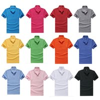 purple polo shirts - POLO T Shirt Summer Men s Loose Short Sleeve Brand Man s Clothing Turn Down Collar Casual Cotton Slim Fit Stylish Multi Colors Size M XL