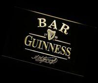 Wholesale jb BAR Guinness Beer LED Neon Light Sign