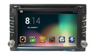 application radio - Bbluetooth application inch din Android4 car DVD player dual core CPU NEW Car DVD Video Player