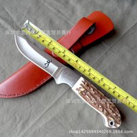 Wholesale Lame De Scie Saw Blade Tool Wood Manufacturers Supply Bowning Browning Survival Knife Straight Outdoor Camping Blanc Ninghan Guang Diving