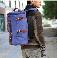 Wholesale New men s travel bags high quality canvas sport bags duffle Large Capacity gym bag men s backpacks basketball bag