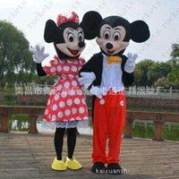 Nueva mascota de dibujos animados de Mickey Mouse vestido de mickey mickey de dibujos animados traje de caminar muñeca trajes de envío Gratis