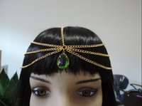 asos necklace - Special new ASOS official website the same paragraph bohemian fringed emerald tiara hair band hair bands